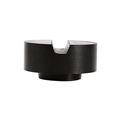 Block Bin (Jack Pad geschlitztes langlebiges Gummi Jack Pad Block Zylinderform für Hopper Stock Bin Jack, 65x33mm)