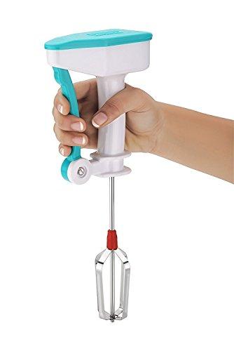 iStore Portable Hand Blender Mixer Froth Whisker Lassi Maker for Milk Coffee Egg Beater - Useful for Egg & Cake Beater Blender Mixer