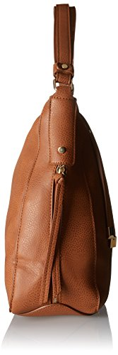 PIECES - Pcjustine Bag, Borse a spalla Donna Marrone (Cognac)