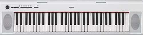 Yamaha NP-12WH Keyboard (Digitale Gewichtet, Piano)