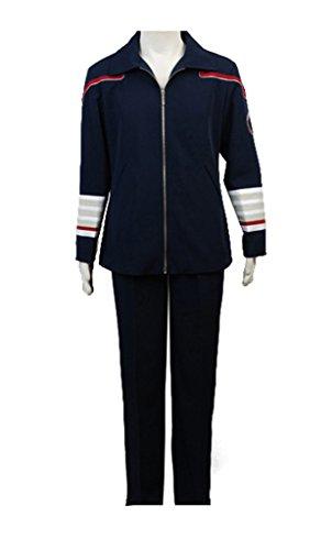Elecos Star Trek Enterprise Starfleet Grand Admiral Schwarzblau - Starfleet Uniformen Kostüm