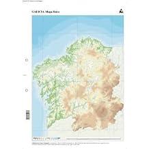 Amazones mapa fisico de galicia mudo  Principado de Asturias