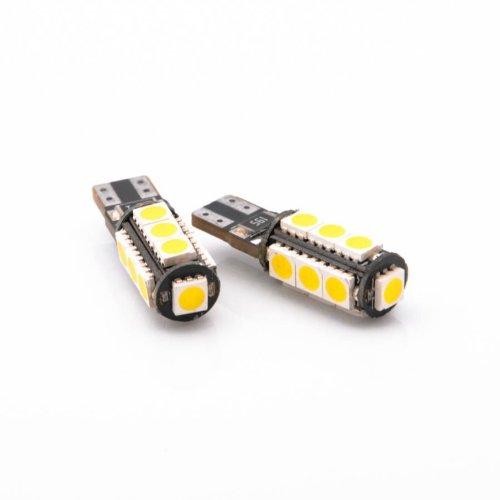 13SMD LED Standlicht W5W T10 Xenon Canbus Glassockel Stecksockel