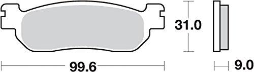 SBS-Pastiglia Freno Yamaha X-Max 125/250[P155Ms]