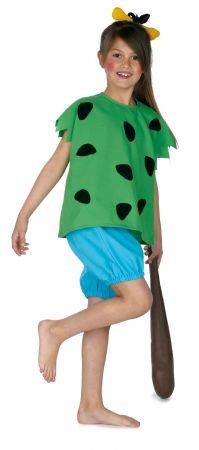Imagen de disfraz cavernícola infantil niña. talla 6.