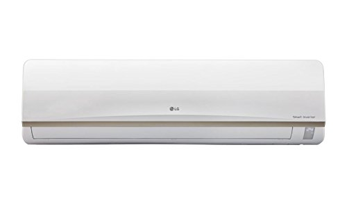 LG JS-Q12AUXA Inverter Split AC (1 Ton, 3 Star Rating, White, Aluminum)