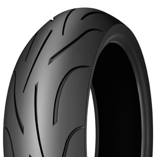 Michelin 990721 Motorrad Ganzjahresreifen, Schwarz, 180/55 R17