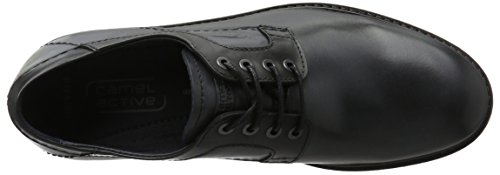 camel active Harvard 22, Scarpe Stringate Uomo Blu (midnight/black 02)