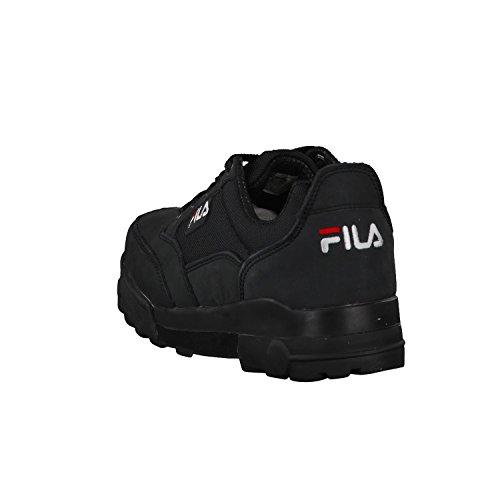 Fila Grunge Low, Sneaker Basse Uomo Nero (nero)