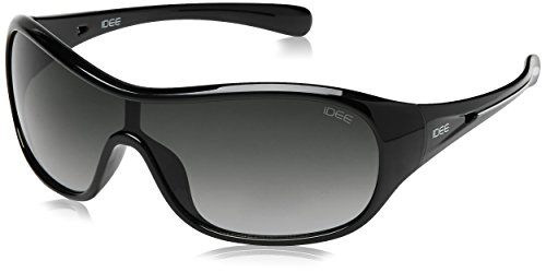 IDEE Sport Sunglasses (IDS1785C2SG|100|Solid Black and White ) image
