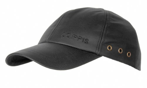 SCIPPIS Australian Adventure Wear Leather Cap, One Size, Black