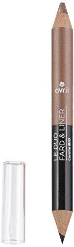 Avril Duo Fard/Liner Bronze, Kupfer/Beige, goldfarben, 2 g, 2 Stück