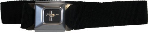 Buckle-Down Ford Mustang Ford Mustang Seat-Belt Style Fashion Belt (SBB-FMW10200) by Buckle Down Seat Belt Buckle Down