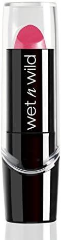 Wet n Wild Silk Finish Lipstick, Pink Ice, 3.6g