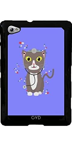 Case for Samsung Galaxy Tab P6800 - Cat with medical equipment by ilovecotton