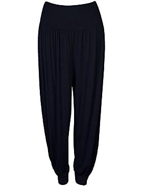 Pantalones Harem de mujeres PrettyFashion Ali Baba Larga Damas niñas pantalones holgados harén Leggings Plus Size...