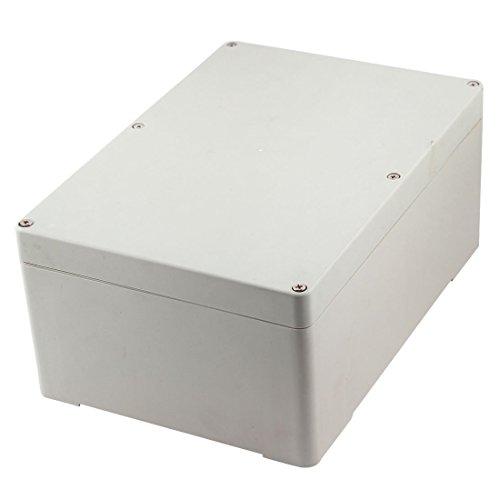 Caja de conexiones - SODIAL(R) Caja de proyecto electronico de armario impermeable de plastico 265mm x 185mm x 115mm