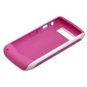 BlackBerry Duo silicone cover white / Pink (ASY-29750-005) for BlackBerry 9105 Pearl 3G, BlackBerry 9100 Pearl
