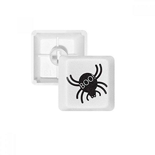 DIYthinker Halloween Black Spider PBT Keycaps für Mechanische Tastatur Weiß OEM Keine Markierung drucken