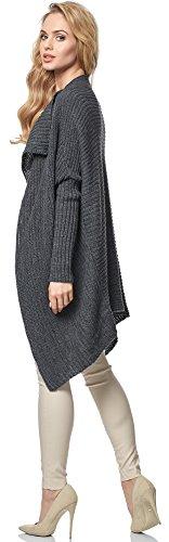 Merry Style Cardigan per Donna MSSE0027 Graphite