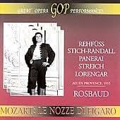 Mozart - Le Nozze Di Figaro - Hans Rosbaud (2 CD Set)