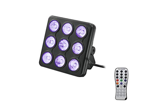 Eurolite LED Party Panel RGB Ed UV, mehrfarbig