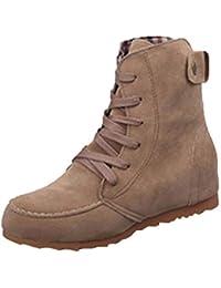 Yesmile Zapatos de mujer❤️Zapatos Botas Planas de Nieve de Tobillo de Mujer Botas de