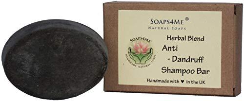 ATTIS handgefertigt Anti-Schuppen Kräutermischung Shampoo Bar | mit Ginger Root | reetha | Shikakai | Patchouli & Eukalyptus Ätherische Öle | Amla |-Sulfat frei | für Frauen & Männer -