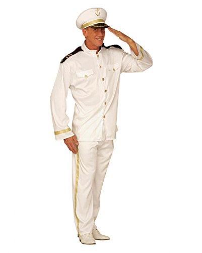Ein Und Gentleman Kostüm Offizier Ein (Marine Kapitän Kostüm S)