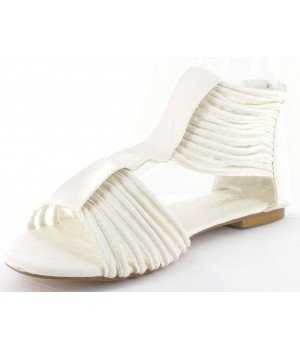Clarisse - Sandales femme blanches - 01-1-3 Blanc