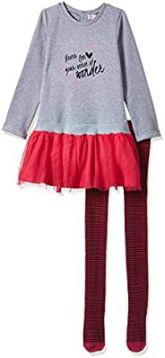 Babybol baby-girls Baby'S Dress+Tights Baby and Toddler T-Shirt