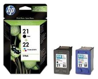 Hewlett Packard Pack de 2 cartouches C9351AE + C9352AE SD367AE noir/color No.21 + No.22 190/165p (B003SLO91O) | Amazon price tracker / tracking, Amazon price history charts, Amazon price watches, Amazon price drop alerts