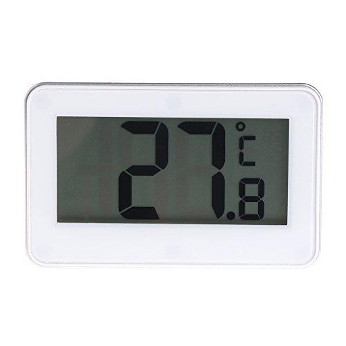 Thermometer Stand (NysunshineFridge Kühlschrank Thermometer Waterproof mit Hanging Hook Stand LCD Display Screen)