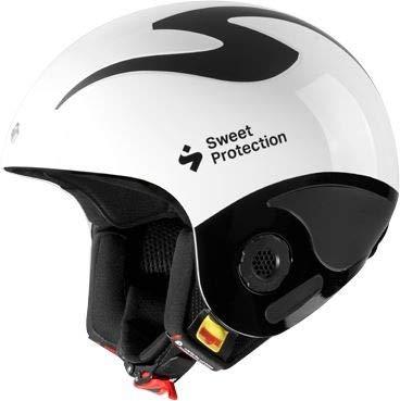 Sweet Protection Volata Weiß, Herren Ski- & Snowboardhelm, Größe L-XL - Farbe Gloss White