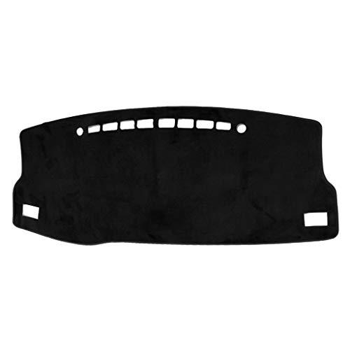 WDTong Auto Armaturenbrett Teppich Matte Rutschfeste Flanell Sonnenschutz Abdeckung Pad Antireflex Dekoration -