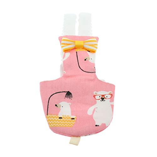 Sharplace Pañal de Pájaros Ropa de Loros Accesorios de Animales Pequeños Alfombras Sanitarias Reutilizable Lavable - Estilo 2, S