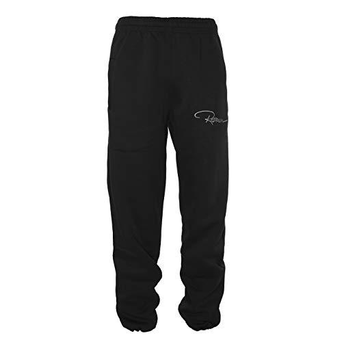 REDRUM Plain Pant Damen Herren Unisex Jogginghose Streetwear Sport Fitness Hosen Tanz (XL, Dark Anthrazit) -
