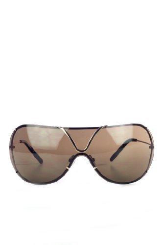 John Richmond Damen Herren Designer Sonnenbrille gold, sunglasses