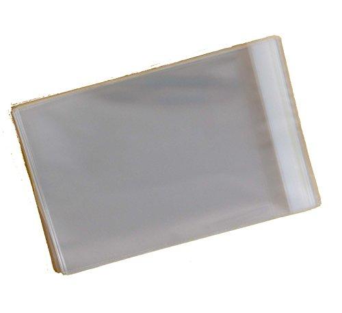 Handgefertigte Seife Bars (1.000Stück-Bar von Seife-Zellophanbeutel 40Micron, selbstklebend, 94mm x 114mm + 30mm Überschlag)
