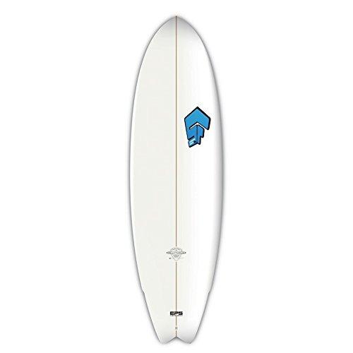 "BIC Surf Superfrog Hydro Fish Surfboard 2016 - 6\'8\"""