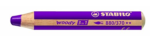 Preisvergleich Produktbild STABILO MultitalentStift woody 3 in 1, erika lila