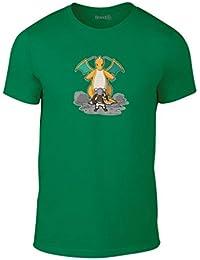 Brand88, Dragonslayer, Erwachsene Mode T-Shirt
