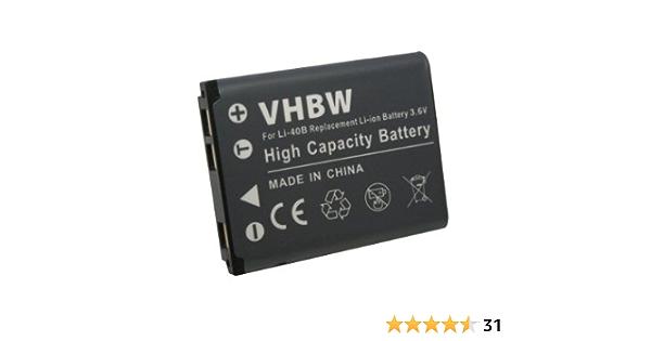 Vhbw Akku Kompatibel Mit Praktica Luxmedia 10 03 Elektronik