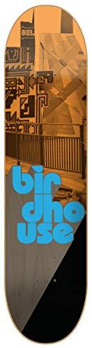 Birdhouse Skateboard-Deck Stacked - 8.25 Inch Orange-Schwarz (One Size , Orange)