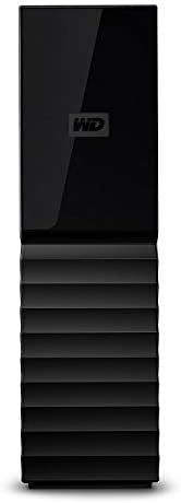 WD My Book 8 TB Desktop Hard Drive - Black