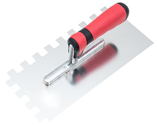 Paleta Connex dentada 130 x 280 mm, dientes 15 x 15 mm parte delantera derecha, mango de 2 componentes, 1 unidad, COX781231