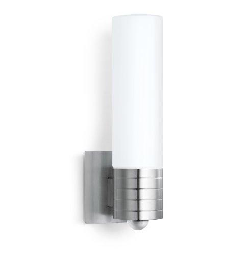 Sensor Außenleuchte L 260 LED, 8.6 W LED Lampe, 240° Bewegungsmelder, 12 m Reichweite, 700 lm, Edelstahl