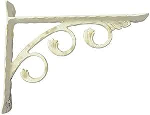 Alluminio metallizzato, 12 cm resistenza e design Reggimensola darredoCurva supporti e staffe arredo casa in diversi colori e misure