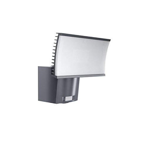 Osram LED-Flutlichtstrahler, Noxlite, grau, Bewegungsmelder, Dämmerungssensor, 23 Watt, Warmweiß- 3000K -