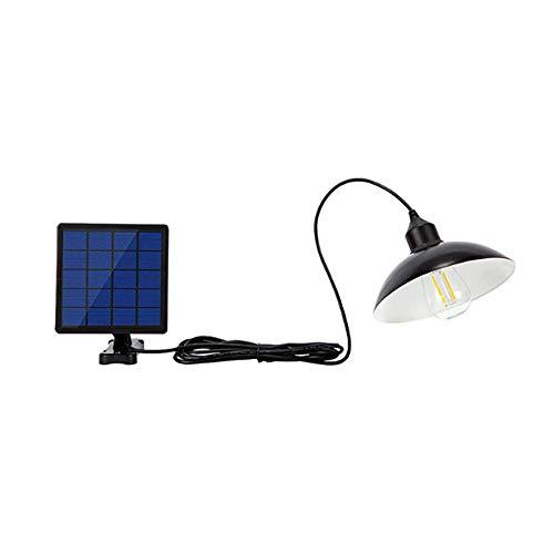ONEVER Solarstraßenlaterne, EINMAL 30W Retro-Solar-LED-Lampe Hängeleuchten Wasserdichte Pendelleuchte Lampe Flutlicht für Outdoor-Straße Garten Hof Garage Pathway Pool Deck - Outdoor-beleuchtung Deckenleuchte